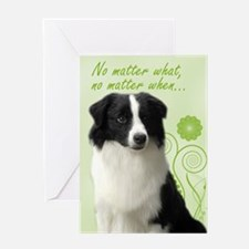 Border Collie Love/Support Card