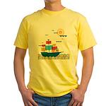 RIF Custom Yellow T-Shirt - Fun Art