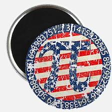 American Pi, Pie Distressed Magnet