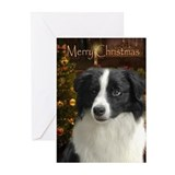 Border collie Greeting Cards (10 Pack)