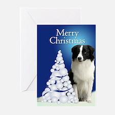 Border Collie Christmas Cards (Pk of 10)