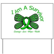 TBI I'm A Survivor Yard Sign