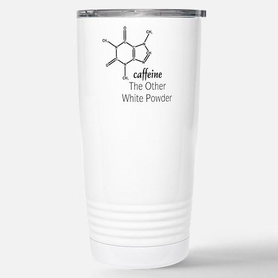 Caffeine Stainless Steel Travel Mug