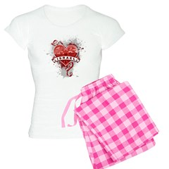 Heart Israel Pajamas