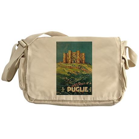 Pugile Castel Del Monte Messenger Bag