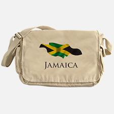 Map Of Jamaica Messenger Bag