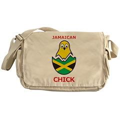 Jamaican Chick Messenger Bag