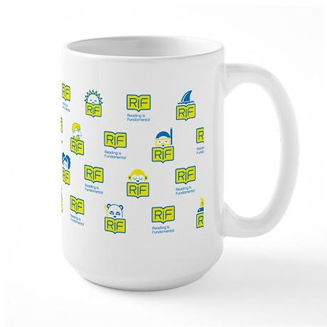 RIF Large Mug - Book Characters