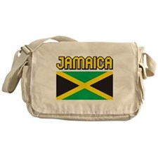 Jamaica Flag Messenger Bag