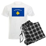 Kosovo Flag Men's Light Pajamas