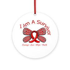 Stroke I'm A Survivor Ornament (Round)