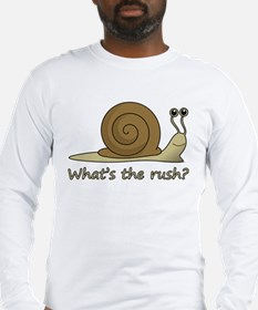 Funny Snail Long Sleeve T-Shirt