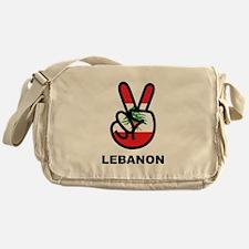 Peace In Lebanon Messenger Bag