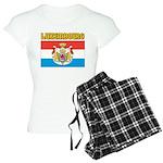 Luxembourg Flag Women's Light Pajamas