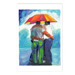 Spring Rain Postcards (Package of 8)