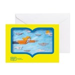 RIF Greeting Cards (Pk of 10) - Flying Art