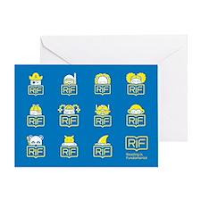 RIF Greeting Card - Book Characters