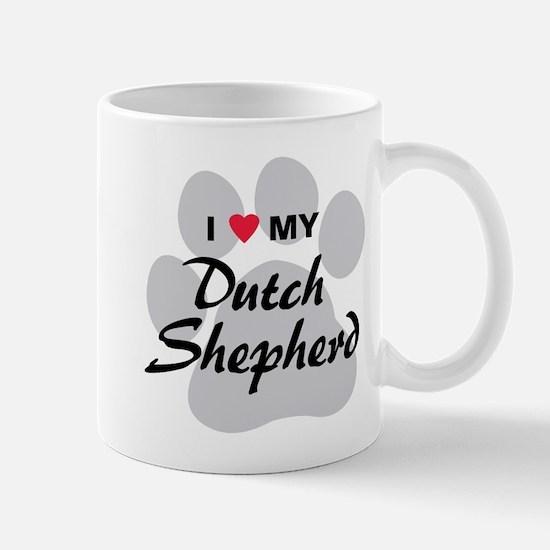 Love My Dutch Shepherd Mug