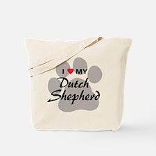 Love My Dutch Shepherd Tote Bag