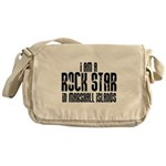 Rock Star In Marshall Islands Messenger Bag