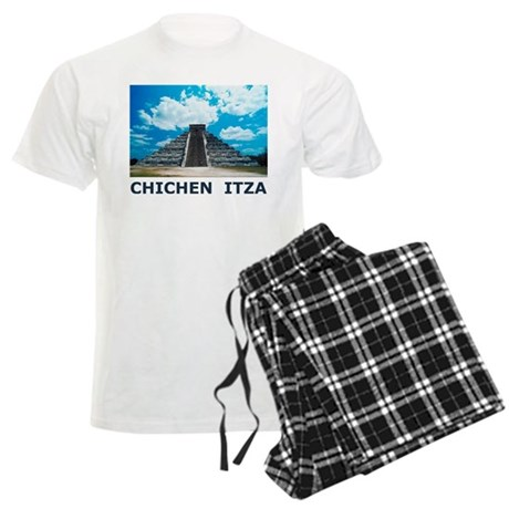 Chichen Itza Men's Light Pajamas
