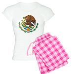 Mexico Coat Of Arms Women's Light Pajamas