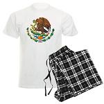 Mexico Coat Of Arms Men's Light Pajamas