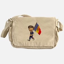 3D Moldova Messenger Bag