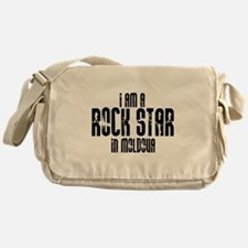 Rock Star In Moldova Messenger Bag