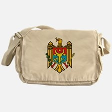 Moldova Coat Of Arms Messenger Bag