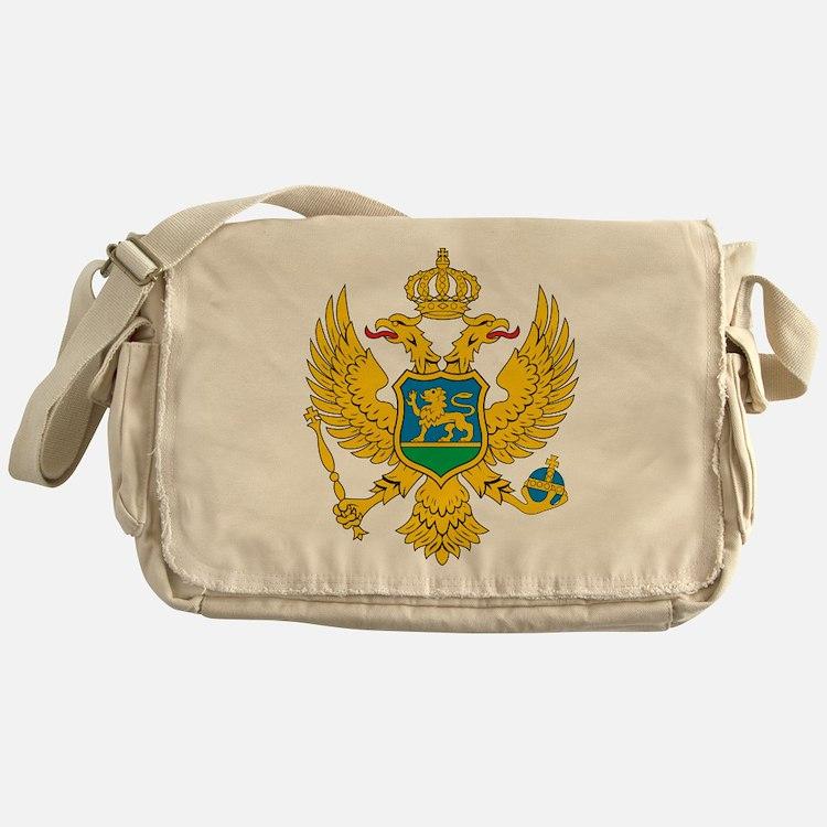 Montenegro Coat Of Arms Messenger Bag