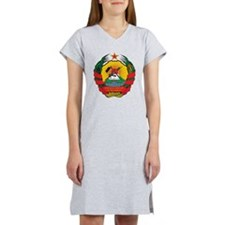 Mozambique Coat Of Arms Women's Nightshirt