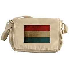 Vintage Netherlands Flag Messenger Bag