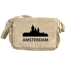 Amsterdam Skyline Messenger Bag