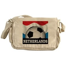 Football Netherlands Messenger Bag