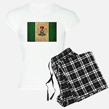 Vintage Nigeria Flag Pajamas