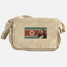 Vintage North Korea Messenger Bag
