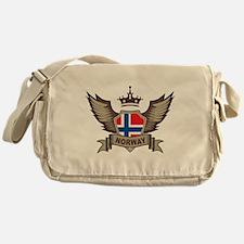 Wings Norway Messenger Bag