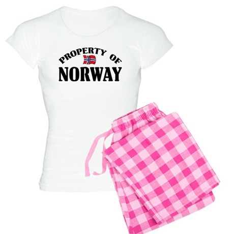 Property Of Norway Women's Light Pajamas