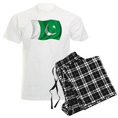 Wavy Pakistan Flag Pajamas
