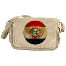 Paraguay Football Messenger Bag
