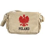Vintage Poland Messenger Bag