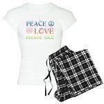 Peace Love Puerto Rico Women's Light Pajamas