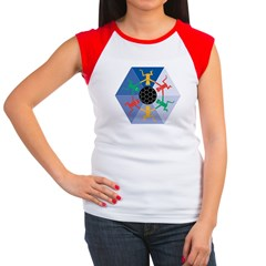 Global Soccer Women's Cap Sleeve T-Shirt