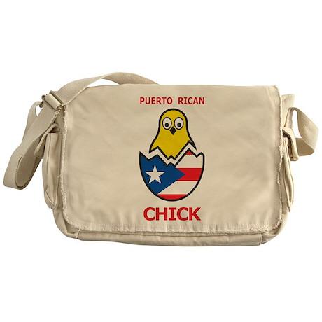 Puerto Rican Chick Messenger Bag