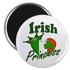 """Irish Princess St. Patty's Day 2.25"""" Magnet (10 pa"""