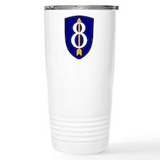 8th Infantry Travel Mug