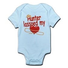 Hunter Lassoed My Heart Infant Bodysuit
