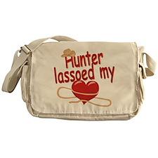 Hunter Lassoed My Heart Messenger Bag