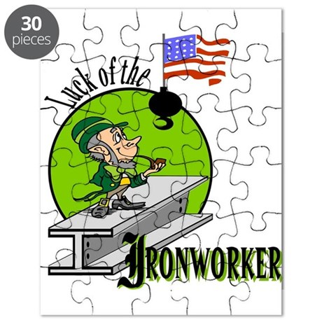 LUCK OF THE IRONWORKER Puzzle
